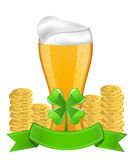 Symbols for St. Patrick's Day Royalty Free Stock Images