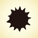 Symbols of sun. Vector illustration Royalty Free Stock Images