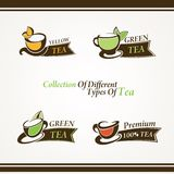 Symbols tea Royalty Free Stock Images
