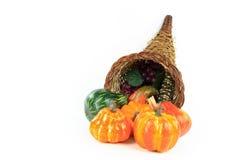 Symbols of Thanksgiving Day - horizontal. Stock Image