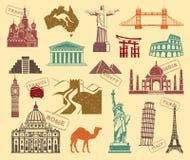 Symbols of travel Royalty Free Stock Image