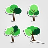 Symbols,tree icon set,Vector illustration. Symbols tree,tree icon set Vector illustration Royalty Free Stock Photo