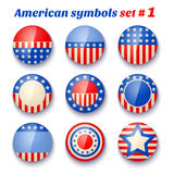 Symbols of the USA Royalty Free Stock Image