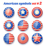 Symbols of the USA Royalty Free Stock Photography