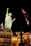 Symbols of the USA in Vegas Stock Image