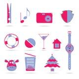 Symbols vector illustration Royalty Free Stock Photo
