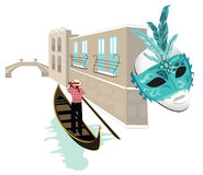 Symbols of Venice Royalty Free Stock Photography