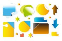 Symbols for website Stock Image
