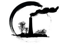 symbolsförorening Arkivfoto