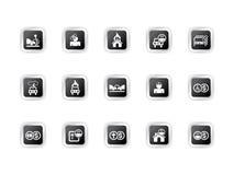 symbolsförsäkring stock illustrationer
