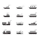 Symbolsfartyg, vektor Royaltyfri Fotografi
