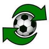 symbolsfotboll stock illustrationer