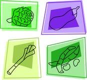 symbolsgrönsak Arkivbild