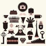 symbolsillustrationvektor Arkivfoton