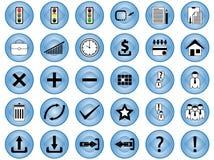 symbolsinternet Arkivbild