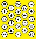 Symbolsinternetshopping Arkivbild