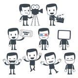 symbolsman stock illustrationer