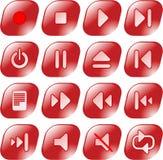 symbolsmedelspelare Arkivbild