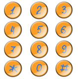 symbolsnummer Arkivfoton