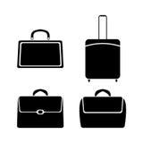Symbolspåsar, vektorillustration Arkivbild