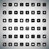 Symbolspacke Arkivfoto