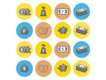 Symbolspengar 2 stock illustrationer