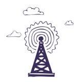 symbolsradio Vektor Illustrationer