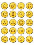 symbolsrengöringsduk Arkivfoton