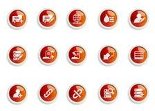 symbolsset Arkivbild