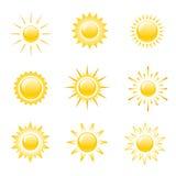 Symbolssol Royaltyfri Bild