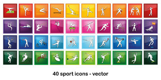 symbolssport Royaltyfria Bilder