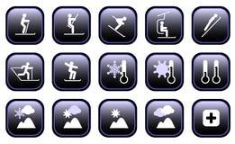 symbolssportvinter Arkivbild