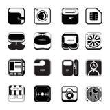 Symbolsuppsättningen reser Fotografering för Bildbyråer