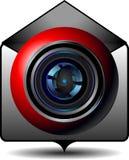 Symbolsvideoemail Fotografering för Bildbyråer