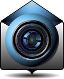 Symbolsvideoemail Royaltyfri Fotografi