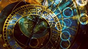 symbolu astrologiczny zodiak kolor tła abstrakcyjne komputerowy kolaż ilustracja wektor