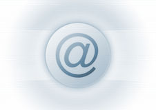 symbolu e - mail Zdjęcia Stock