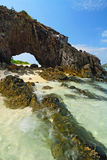 Symbolu miejsce Kai wyspa, Satun Obraz Royalty Free
