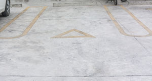 Symbolu parking Obraz Royalty Free