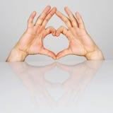 Symbolu serce Zdjęcia Stock