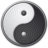 symbolu Yang yin Obraz Stock