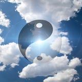 symbolyang yin Royaltyfri Bild