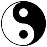 symbolyang yin royaltyfri illustrationer