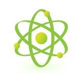 Symbool van atoomtechnologie Stock Fotografie
