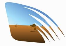 Symbool van Australië Stock Afbeelding