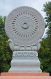 Symbool van boeddhisme royalty-vrije stock foto