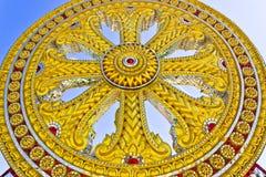Symbool van Boeddhisme. royalty-vrije stock afbeeldingen