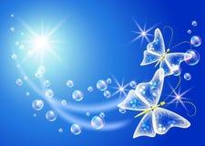 Symbool van ecologie schone lucht vector illustratie