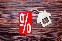 Symbool van een huis Stock Foto's