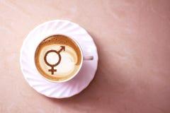 Symbool van gendergelijkheid stock afbeeldingen